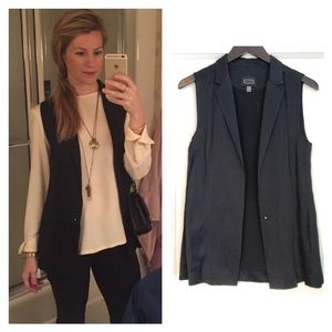 AYR Satin and Linen Vest